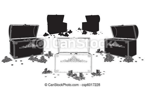 Treasure Chest - csp6017228