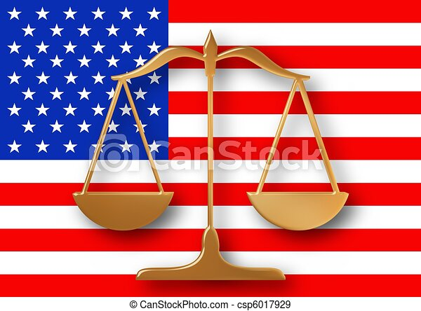 American Justice - csp6017929