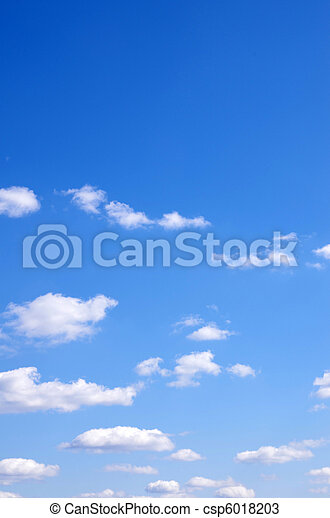 azul, cielo - csp6018203