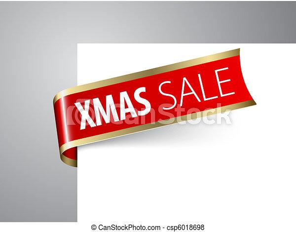 christmas sale announcement - csp6018698