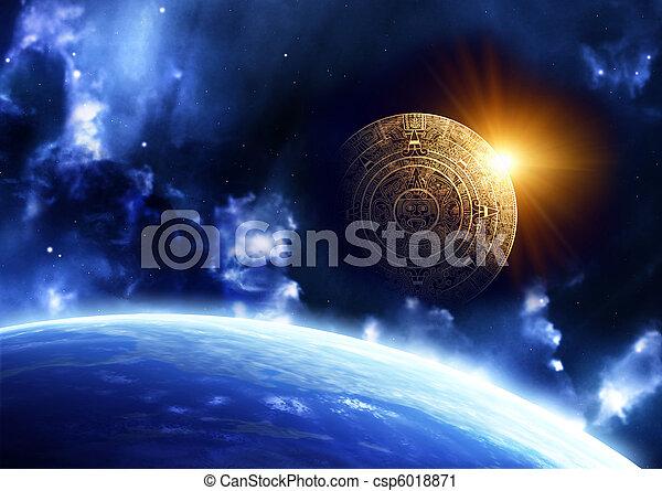 Maya prophecy  - csp6018871