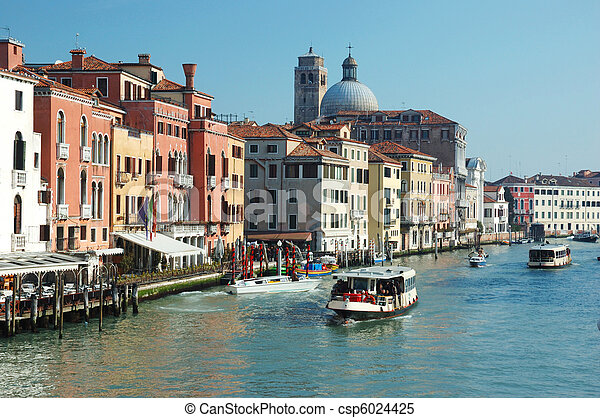 Venice grand canal view,Italy - csp6024425