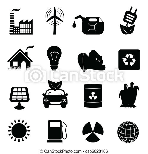 Ecology icon set - csp6028166