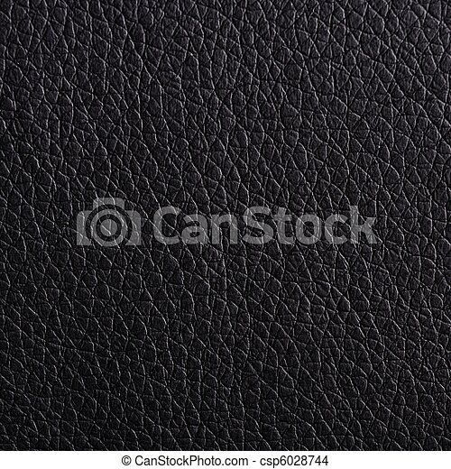 leather texture black - csp6028744