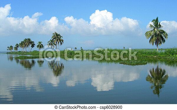 Tourism in Kerala India - csp6028900