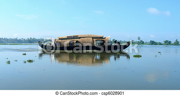 Tourism in Kerala India - csp6028901