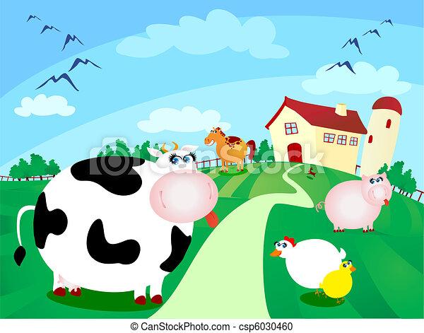 Farm - csp6030460