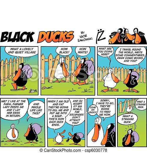 Black Ducks Comics episode 4 - csp6030778