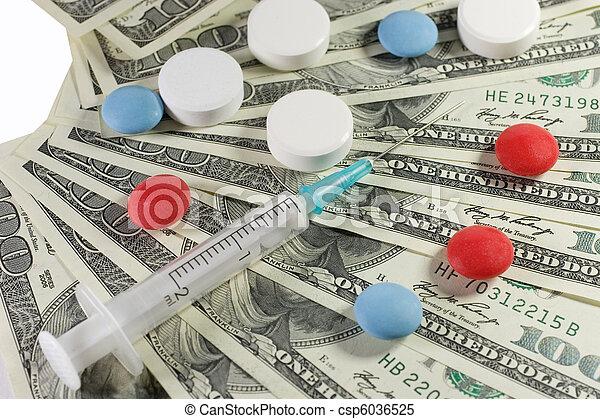 farmaceutisk, industri - csp6036525
