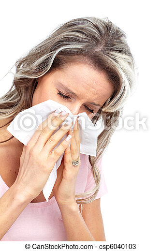 Flu, allergy - csp6040103