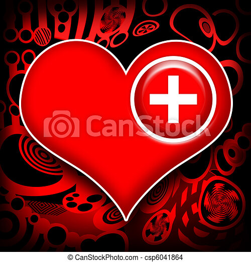 Heart work medical recovery - csp6041864