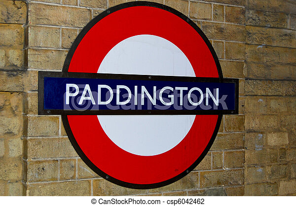 Sign Underground London Station
