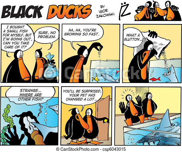 Black Ducks Comics episode 49 - csp6043015