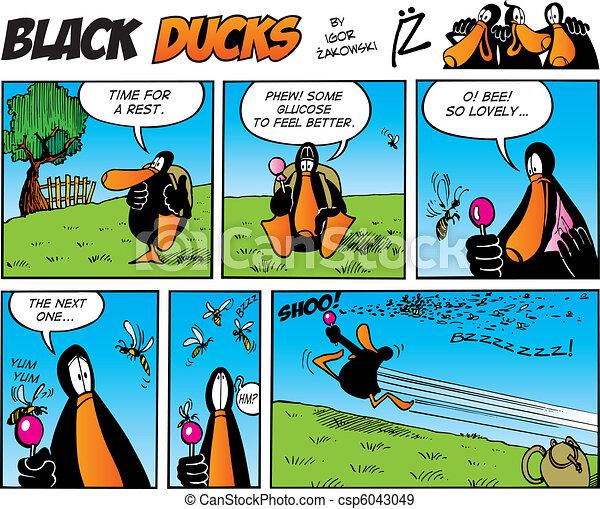Black Ducks Comics episode 45 - csp6043049