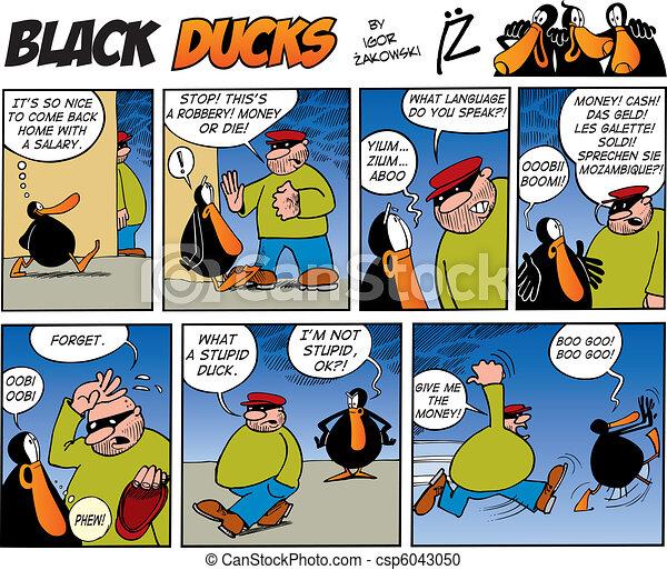 Black Ducks Comics episode 46 - csp6043050