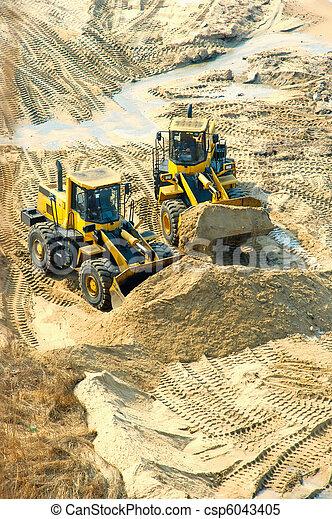 Digging Works - csp6043405