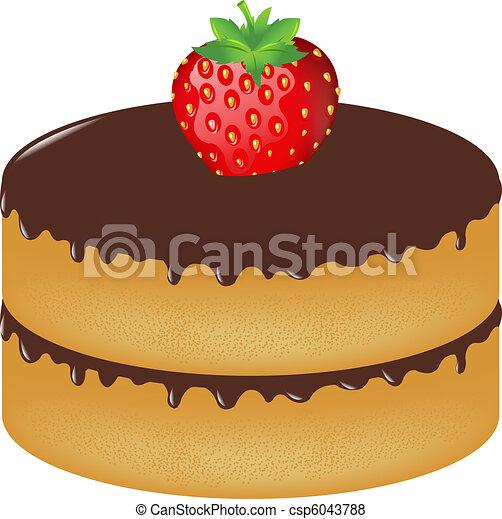 Red Birthday Cake Icon Jpeg