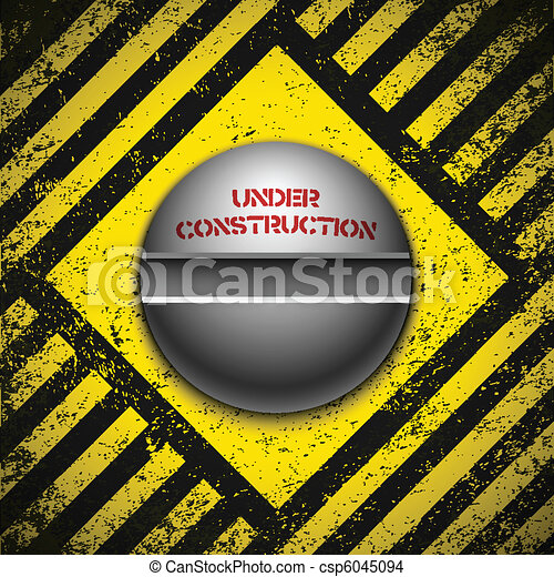 Construction background. Vector illustration. Eps10 - csp6045094