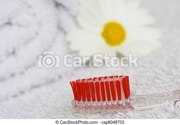 oral hygiene - csp6048703