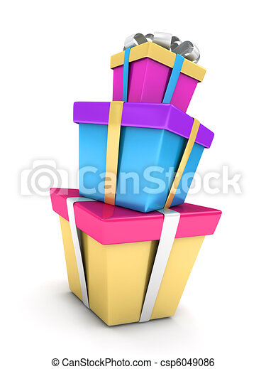 Stack of Gifts - csp6049086