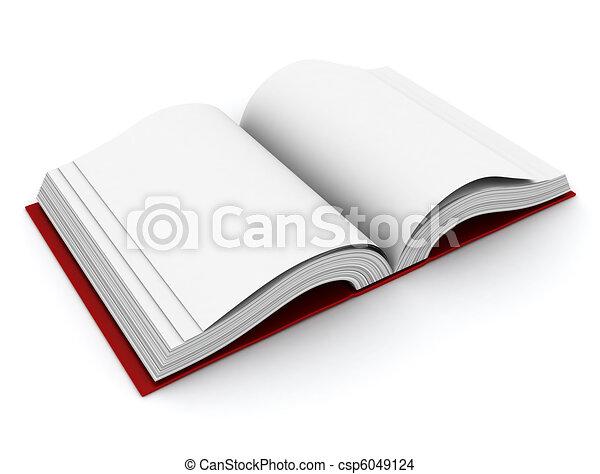 Open Book - csp6049124