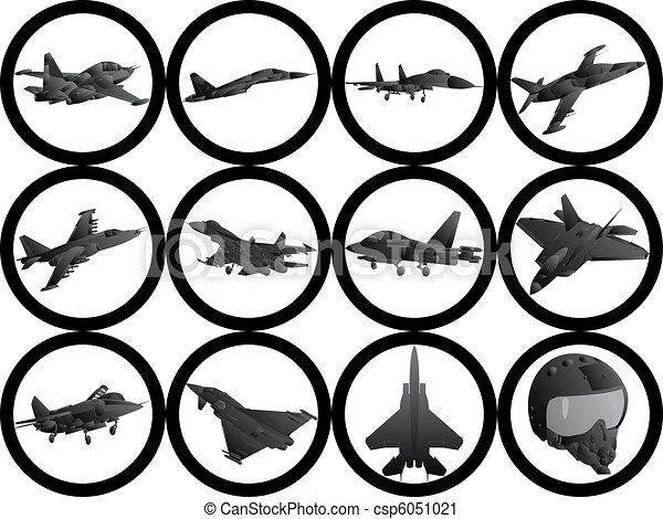 Military aircraft Clipart Vector Graphics. 3,362 Military aircraft ...