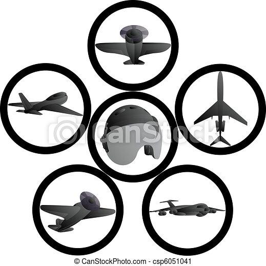Civil aviation - csp6051041