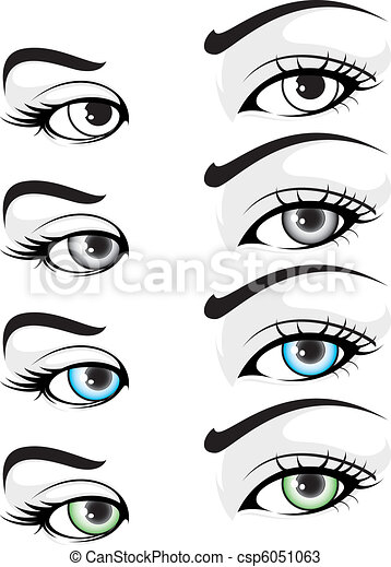 Eye set 01 - csp6051063