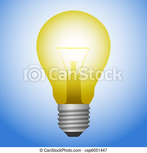 Light Bulb - csp6051447