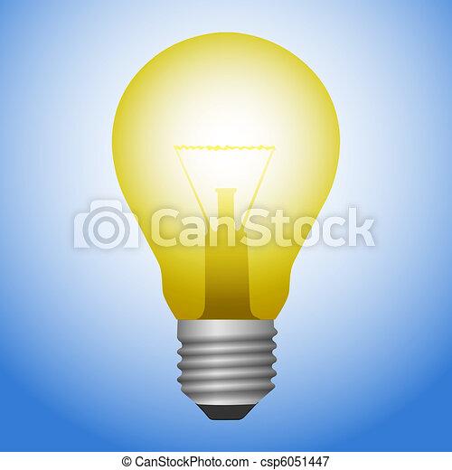 Light Bulb  - csp6051447