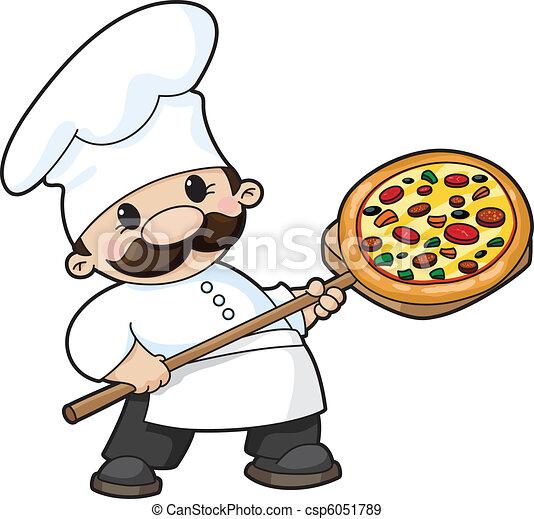 pizza chef - csp6051789