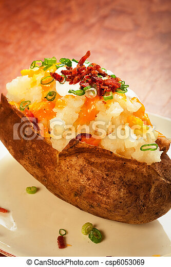 Loaded Baked Potato - csp6053069