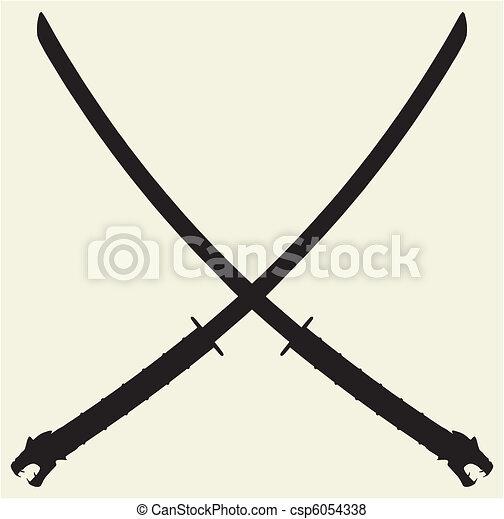 Samurai Katana  - csp6054338