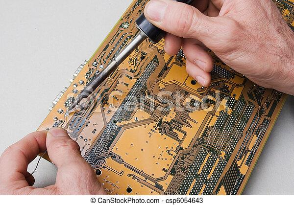 repair of circuit board - csp6054643