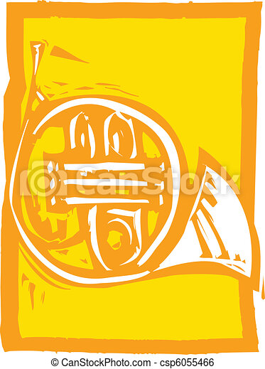 French Horn - csp6055466