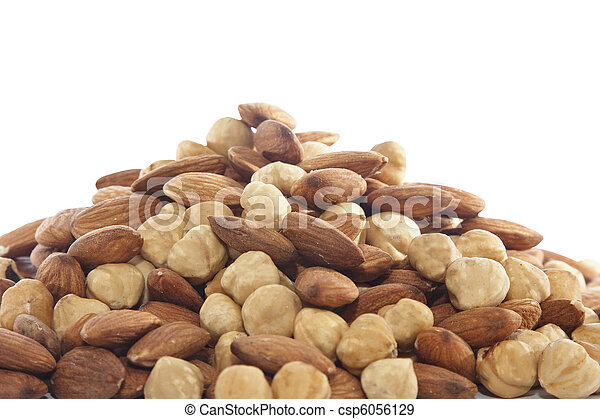 Almond and hazelnut - csp6056129