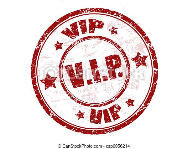 vip stamp - csp6056214