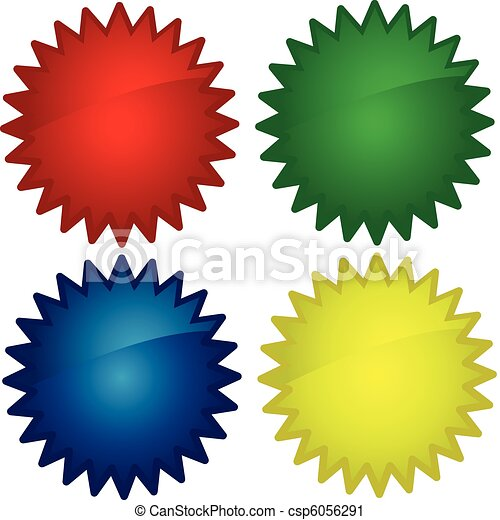 glossy web buttons, icons - csp6056291