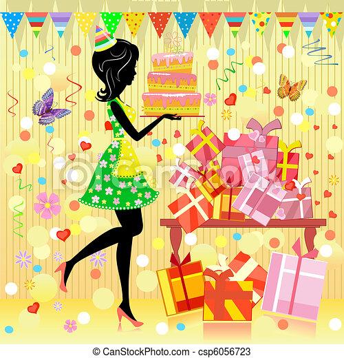 Birthday party - csp6056723