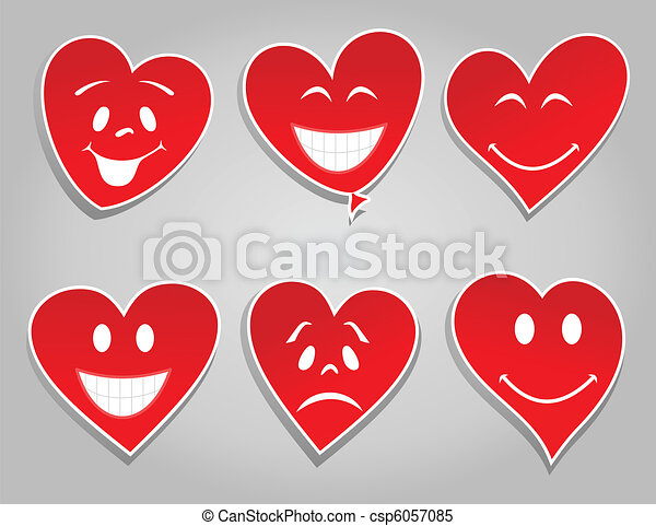 Smile hearts - csp6057085
