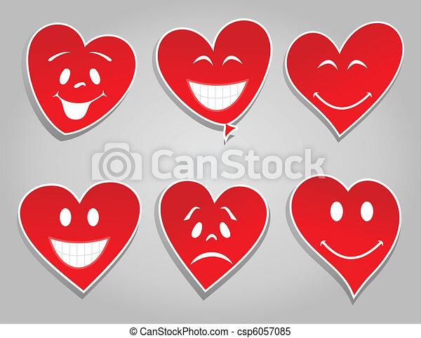 Smile hearts - csp6057085