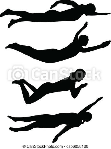Swimming clipart black and white  Swimming Illustrations and Clip Art. 44,793 Swimming royalty free ...