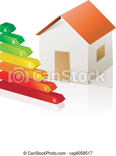 house and energy classification - csp6058517