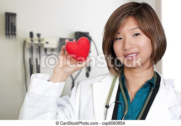 Female Cardiologist - csp6060854