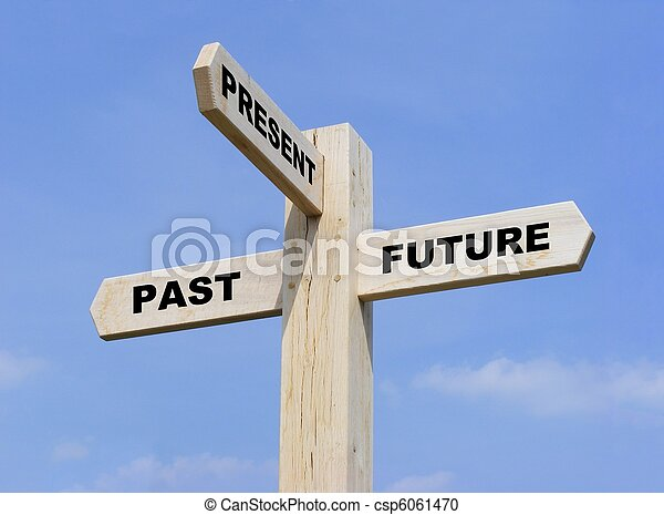 Past Present Future - csp6061470