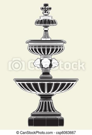 Classic Fountain  - csp6063667