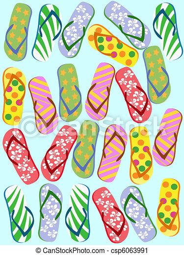 Flip flops seamless - csp6063991