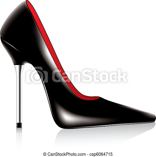 high heel shoe - csp6064715