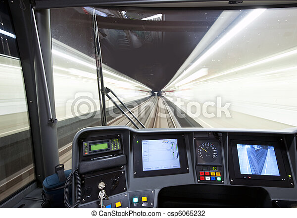 Subway cockpit - csp6065232