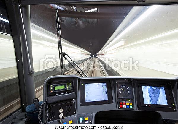 Subway cockpit - csp6065232